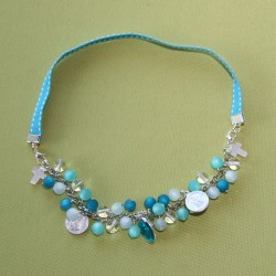 Collier-bracelet Stella Maris turquoise