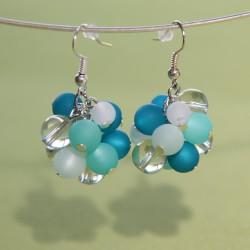 Boucles d'oreilles Stella Maris turquoise