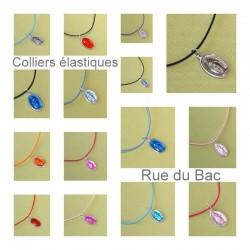 Collier Rue du Bac élastique