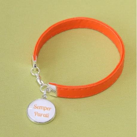 "Bracelet ""Semper Parati"" orange"