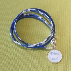 Bracelet double-tour Totus tuus